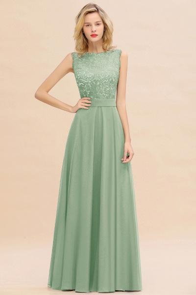 BM0772 Exquisite Scoop Sleeveless A-line Bridesmaid Dress_41