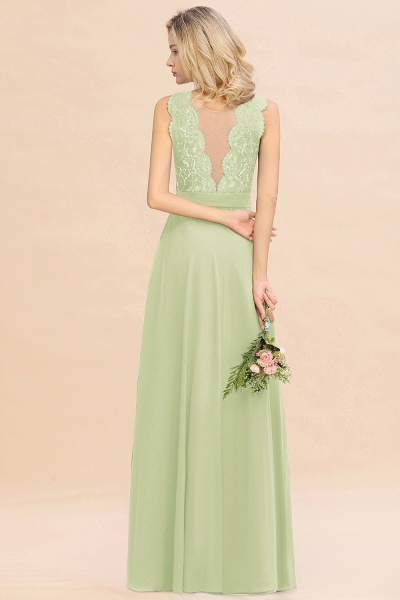 BM0772 Exquisite Scoop Sleeveless A-line Bridesmaid Dress_35