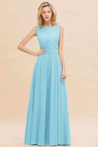 BM0772 Exquisite Scoop Sleeveless A-line Bridesmaid Dress_23