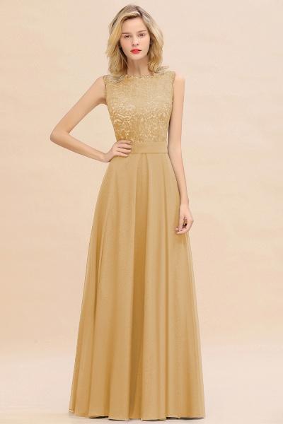 BM0772 Exquisite Scoop Sleeveless A-line Bridesmaid Dress_13