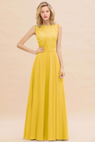 BM0772 Exquisite Scoop Sleeveless A-line Bridesmaid Dress_17
