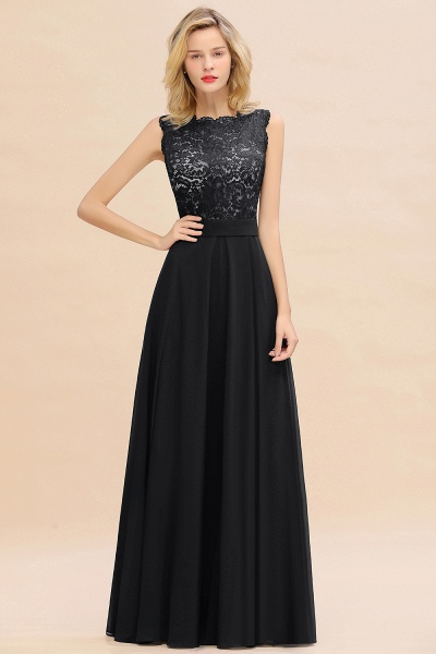 BM0772 Exquisite Scoop Sleeveless A-line Bridesmaid Dress_29