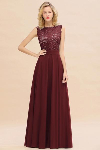 BM0772 Exquisite Scoop Sleeveless A-line Bridesmaid Dress_10