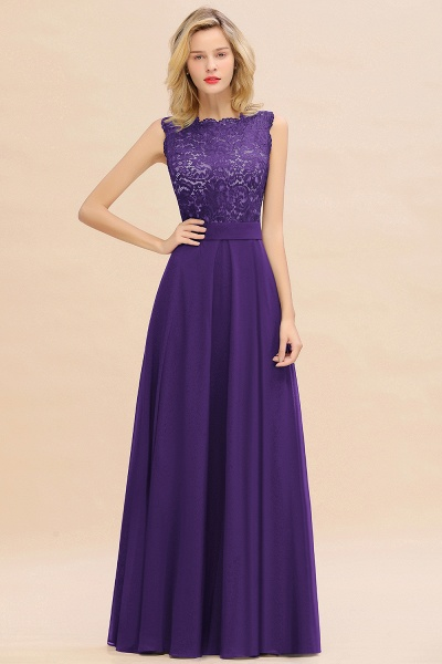 BM0772 Exquisite Scoop Sleeveless A-line Bridesmaid Dress_19
