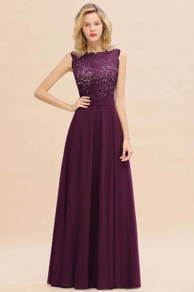 BM0772 Exquisite Scoop Sleeveless A-line Bridesmaid Dress_20