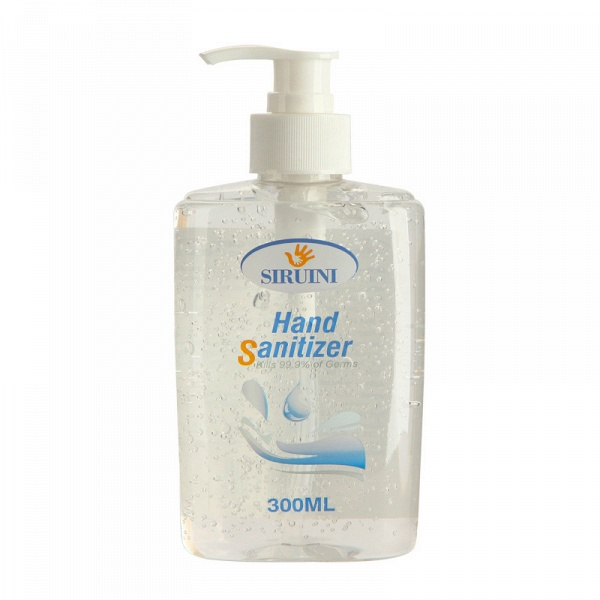 3 Bottles*300ml Siruini Hand Sanitizer - Kills 99.9% of Germs Without Water