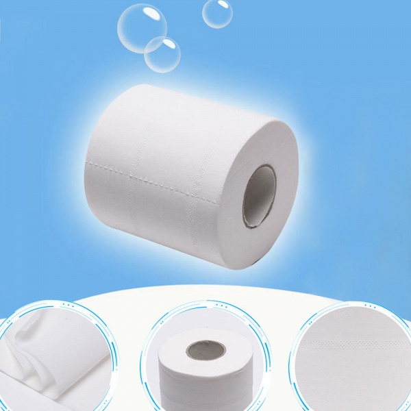 10 Roll 4ply White Toilet Paper Native Wood Pulp Tissue Hollow Replacement Roll Paper_16