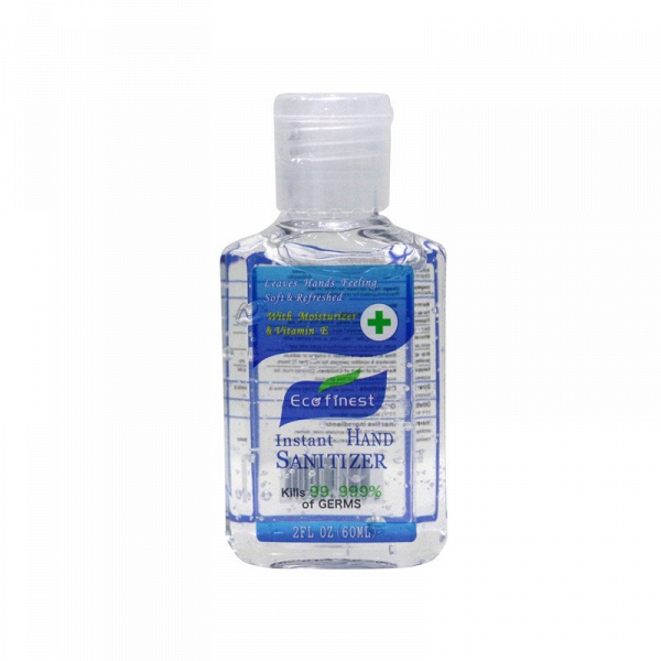 ECO Finest Instant Moisturizing Original Hand Gel Sanitizer withVitamin E 10 bottles*60ml
