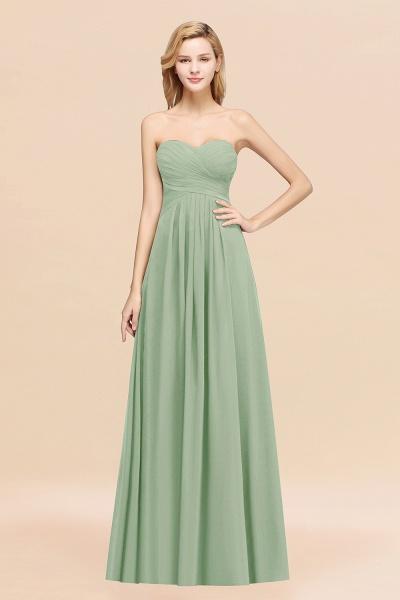 A-line Chiffon Sweetheart Strapless Ruffles Floor-length Bridesmaid Dress_41