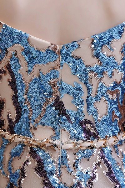 Off-the-Shoulder Sequins Long Multi-Color Prom Dress_13