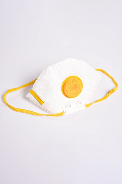 FFP2 Respirator 5 Pieces Disposable Face Mask with Valve_10