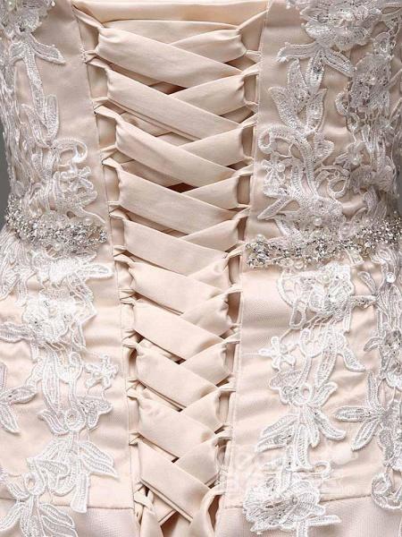 Gorgeous Swetheart Sleeveless Tulle Wedding Dresses_4