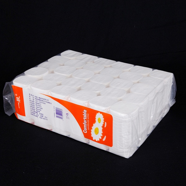 Home Bath Toilet Roll Paper Primary Wood Toilet Tissues Online Wholesale 10 Rolls_4