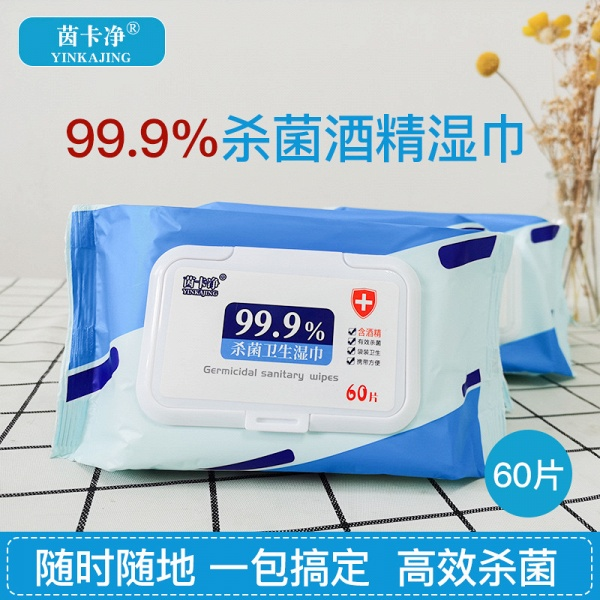 Wet Wipes Kiling 99.99% of Germ - 60 Wipes/Pack (Pack of 20)_5