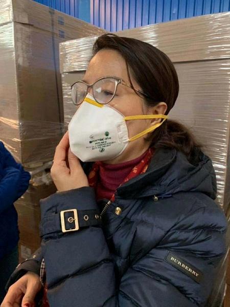 FFP2 Respirator 5 Pieces Disposable Face Mask with Valve_4