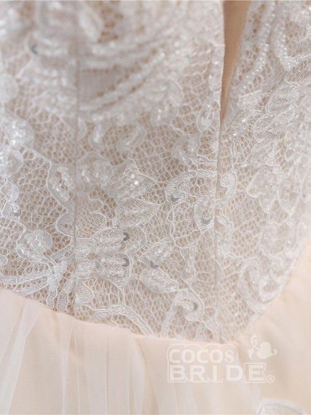 Lace-Up Ball Gown Wedding Dresses_6