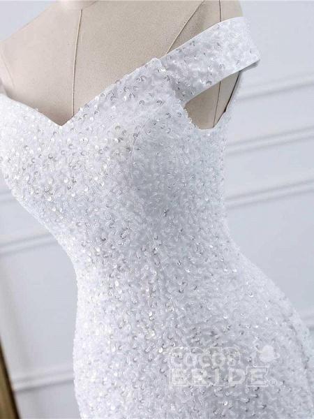 Off-the-Shoulder Mermaid Wedding Dress_4