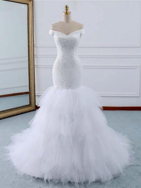 Off-the-Shoulder Mermaid Wedding Dress_1