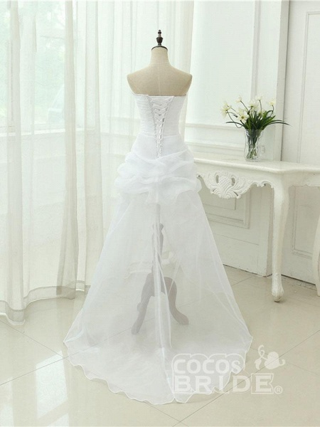 Elegant Off-the-Shoulder Crystal Tulle Wedding Dresses_2