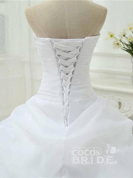 Gorgeous Sweetheart Ruffles Wedding Dresses_5