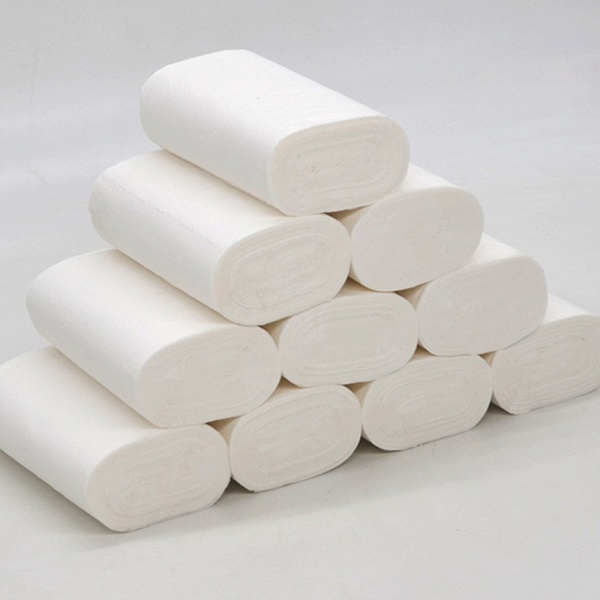 Wholesale Home Bath Toilet Roll Paper Fast Shipping Primary Wood 10 Rolls_7