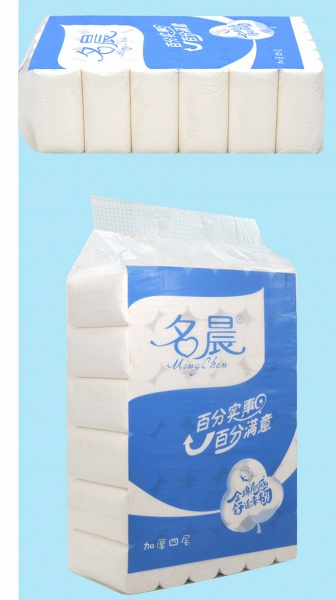 Wholesale Home Bath Toilet Roll Paper Fast Shipping Primary Wood 10 Rolls_6