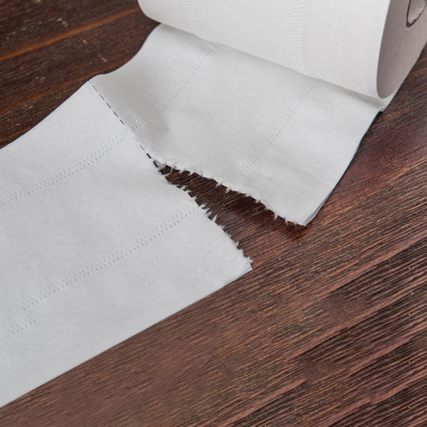 10 Roll 4ply White Toilet Paper Native Wood Pulp Tissue Hollow Replacement Roll Paper_12