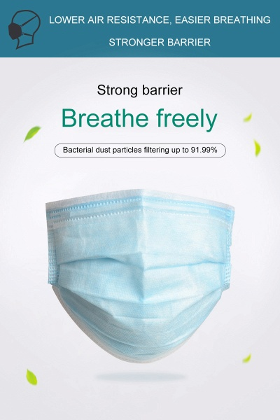 50 Pcs Disposable Face Mask Anti Dust Breathing Safety Masks Online_16