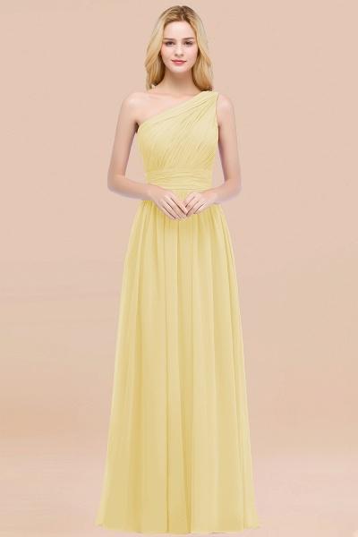 Elegant A-Line Chiffon One-Shoulder Sleeveless Ruffles Floor-Length Bridesmaid Dresses_18