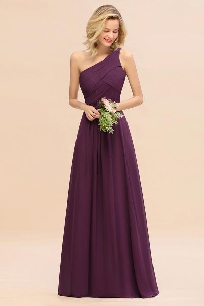 BM0756 Elegant Ruffles One Shoulder Long Bridesmaid Dress_20