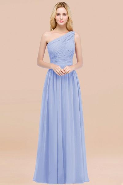 Elegant A-Line Chiffon One-Shoulder Sleeveless Ruffles Floor-Length Bridesmaid Dresses_22