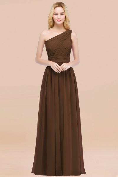Elegant A-Line Chiffon One-Shoulder Sleeveless Ruffles Floor-Length Bridesmaid Dresses_12