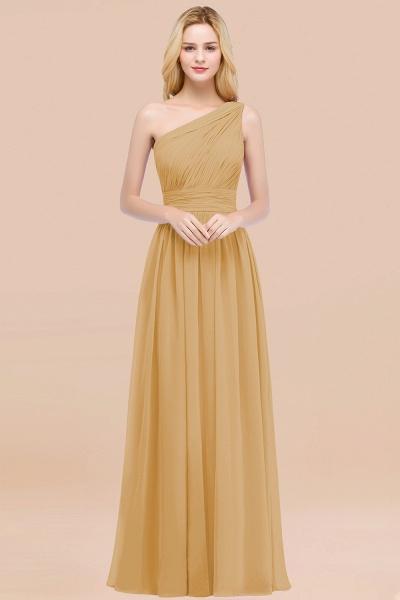 Elegant A-Line Chiffon One-Shoulder Sleeveless Ruffles Floor-Length Bridesmaid Dresses_13