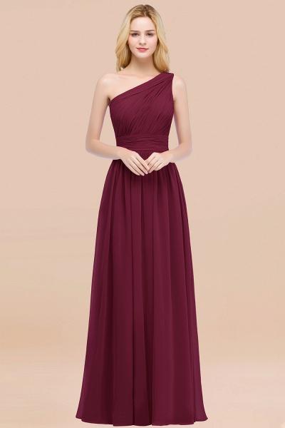 Elegant A-Line Chiffon One-Shoulder Sleeveless Ruffles Floor-Length Bridesmaid Dresses_44