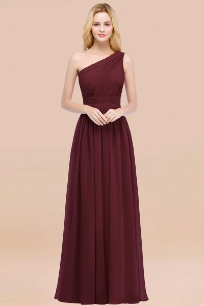 Elegant A-Line Chiffon One-Shoulder Sleeveless Ruffles Floor-Length Bridesmaid Dresses_10