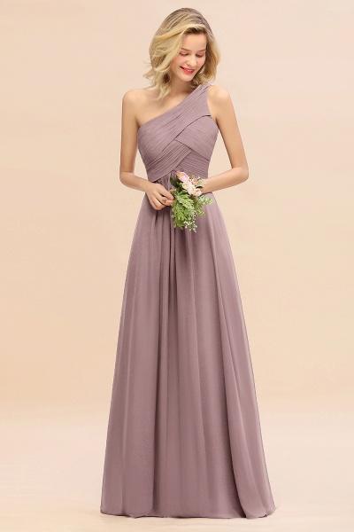 BM0756 Elegant Ruffles One Shoulder Long Bridesmaid Dress_37