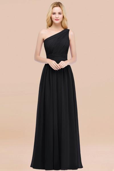 Elegant A-Line Chiffon One-Shoulder Sleeveless Ruffles Floor-Length Bridesmaid Dresses_29