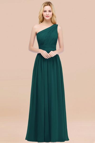 Elegant A-Line Chiffon One-Shoulder Sleeveless Ruffles Floor-Length Bridesmaid Dresses_33