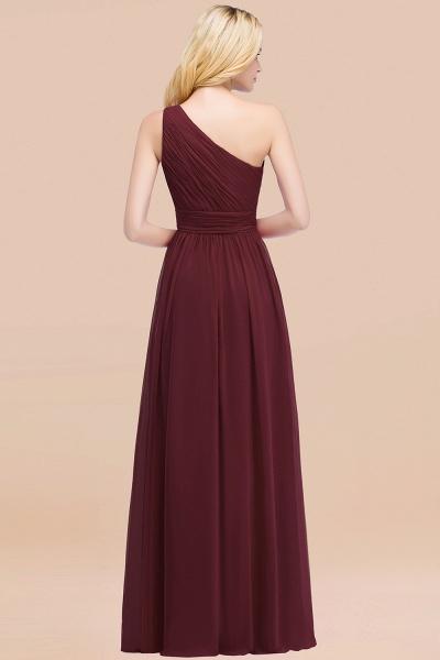 Elegant A-Line Chiffon One-Shoulder Sleeveless Ruffles Floor-Length Bridesmaid Dresses_52