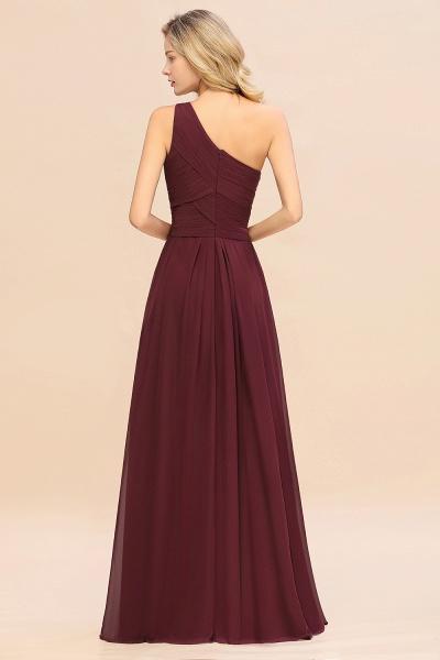 BM0756 Elegant Ruffles One Shoulder Long Bridesmaid Dress_52