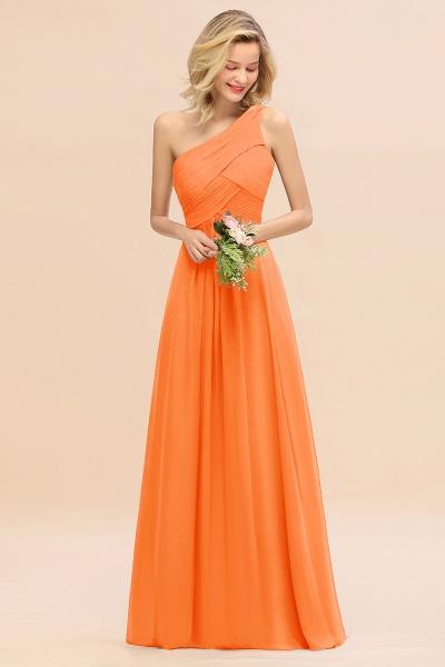 BM0756 Elegant Ruffles One Shoulder Long Bridesmaid Dress_15