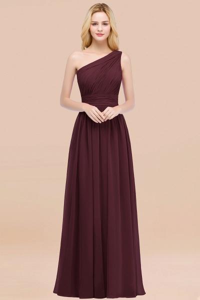 Elegant A-Line Chiffon One-Shoulder Sleeveless Ruffles Floor-Length Bridesmaid Dresses_47