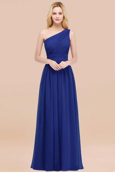 Elegant A-Line Chiffon One-Shoulder Sleeveless Ruffles Floor-Length Bridesmaid Dresses_26