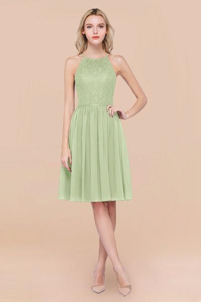 A-line Chiffon Lace Jewel Sleeveless Knee-Length Bridesmaid Dresses with Ruffles_35