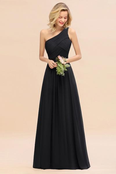 BM0756 Elegant Ruffles One Shoulder Long Bridesmaid Dress_29
