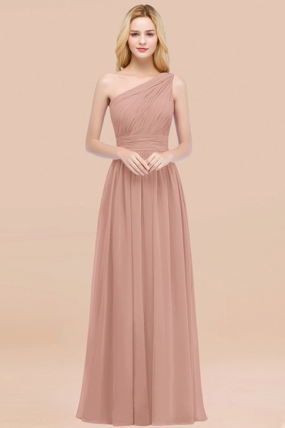 Elegant A-Line Chiffon One-Shoulder Sleeveless Ruffles Floor-Length Bridesmaid Dresses_6