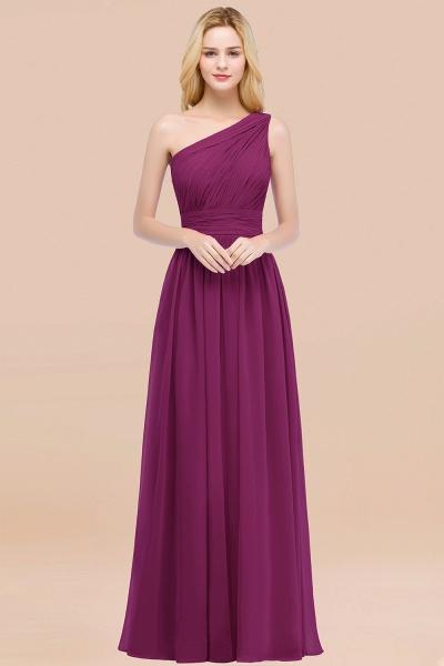 Elegant A-Line Chiffon One-Shoulder Sleeveless Ruffles Floor-Length Bridesmaid Dresses_42