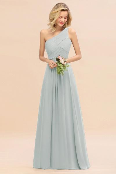 BM0756 Elegant Ruffles One Shoulder Long Bridesmaid Dress_38
