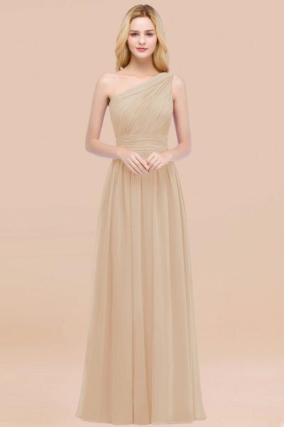 Elegant A-Line Chiffon One-Shoulder Sleeveless Ruffles Floor-Length Bridesmaid Dresses_14