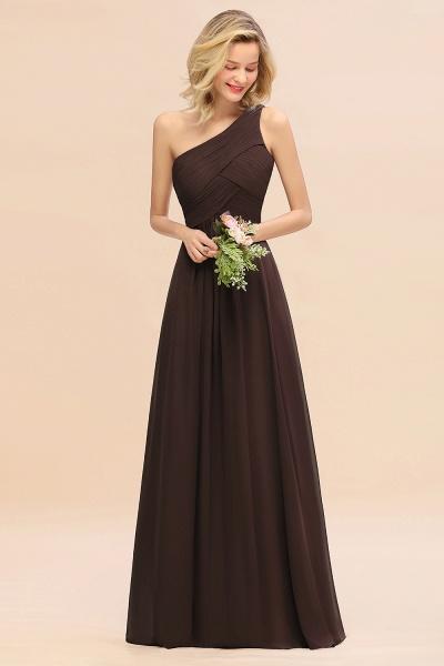 BM0756 Elegant Ruffles One Shoulder Long Bridesmaid Dress_11